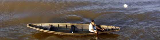 Viagens pelo rio Amazonas, Brasil - Volta ao Mundo