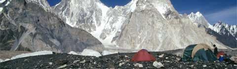 Trekking no K2, Paquistão