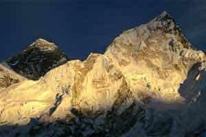 Trekking na face sul do Evereste