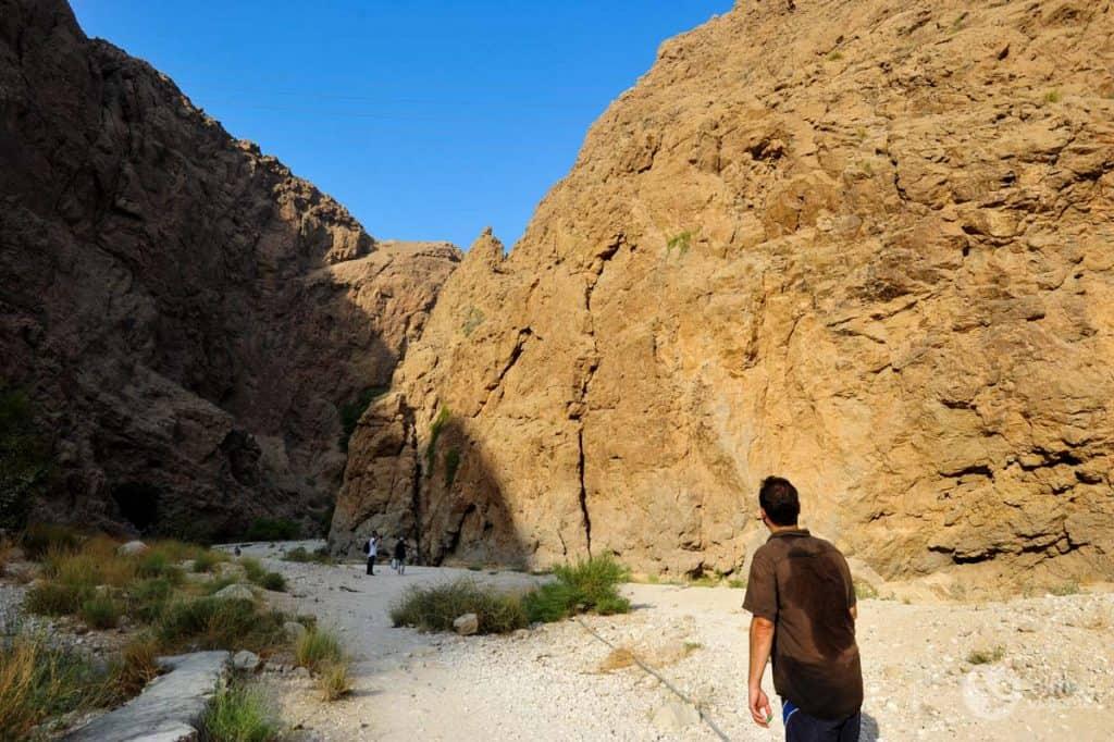 Caminhada Wadi Shab
