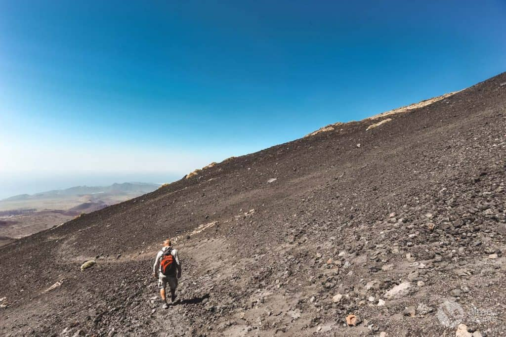 Trekking no Teide