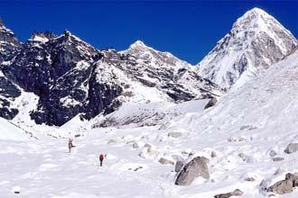 Vista do Monte Pumori