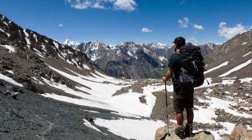 Trekking em autonomia nas montanhas Tien Shan (Quirguistão)