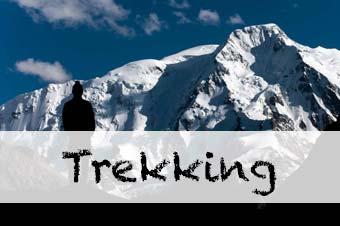 Trekking e outdoor de viagens