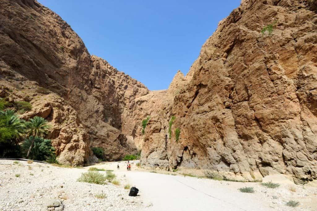 Trekking em Wadi Shab