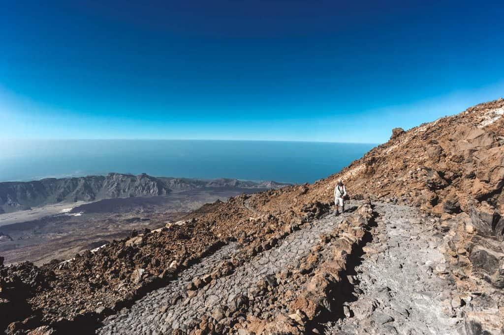 Vad man ska göra på Teide: Teide Trail - Mirador gör Pico Velho