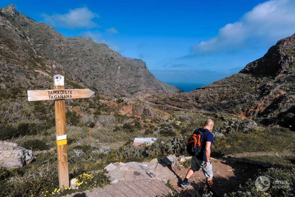 Ruta Tenerife: željeznica PR-TF 8, Anaga