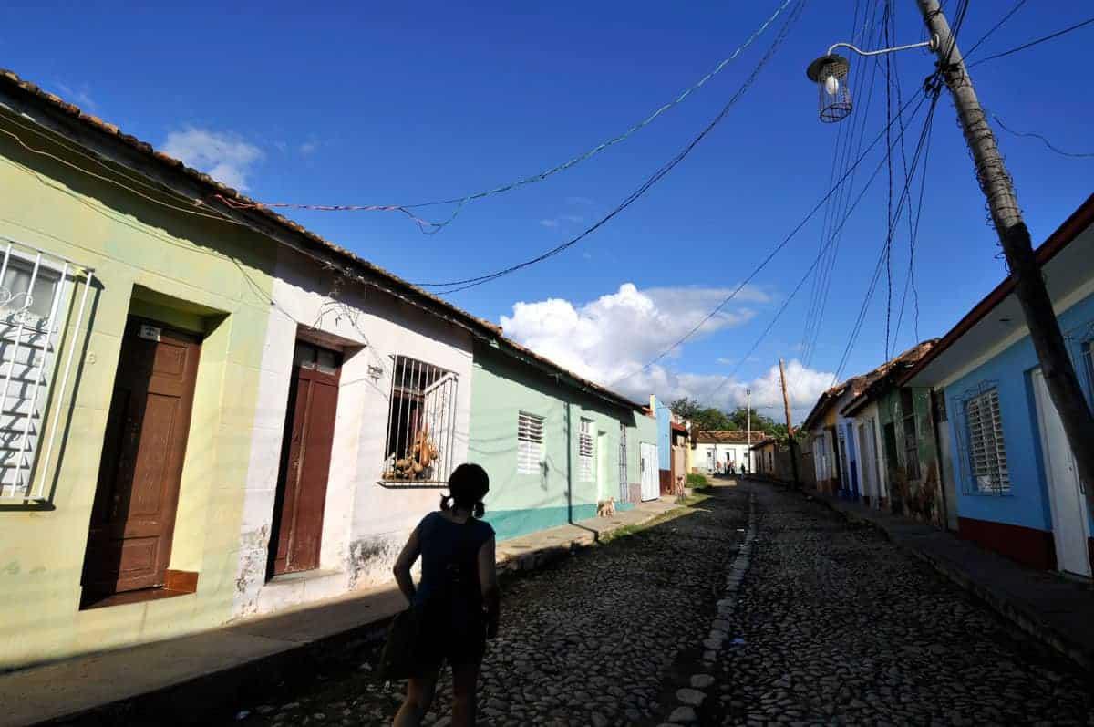 Rua de Trinidad, Cuba