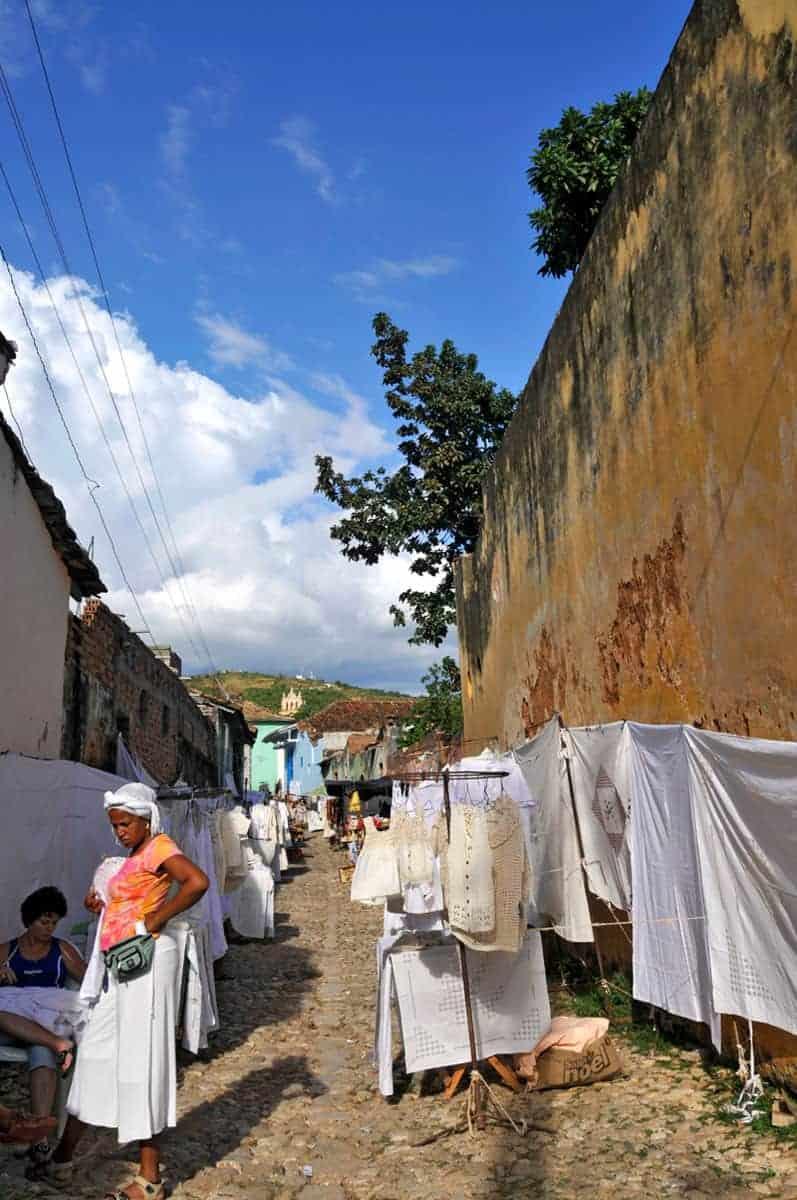 Rua do Centro histórico de Trinidad