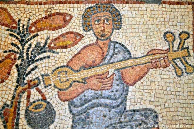Mosaicos de Qasr Libya