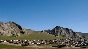 Tsertserleg, Mongólía