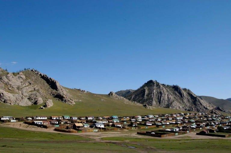 Tsertserleg, Mongólia