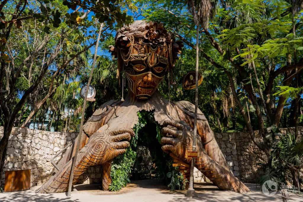 Escultura Ven a la Luz, Tulum