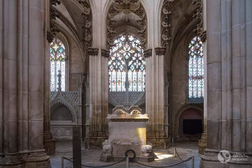 Túmulo duplo de D. João I e D. Filipa de Lencastre