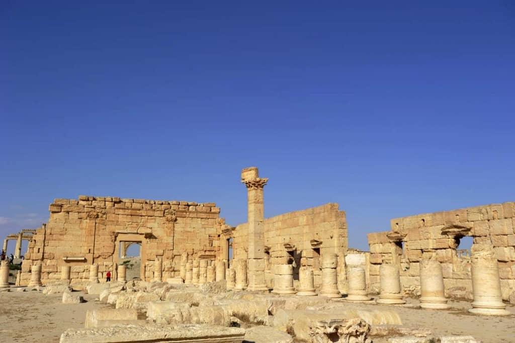 Ferðamaður í Palmira