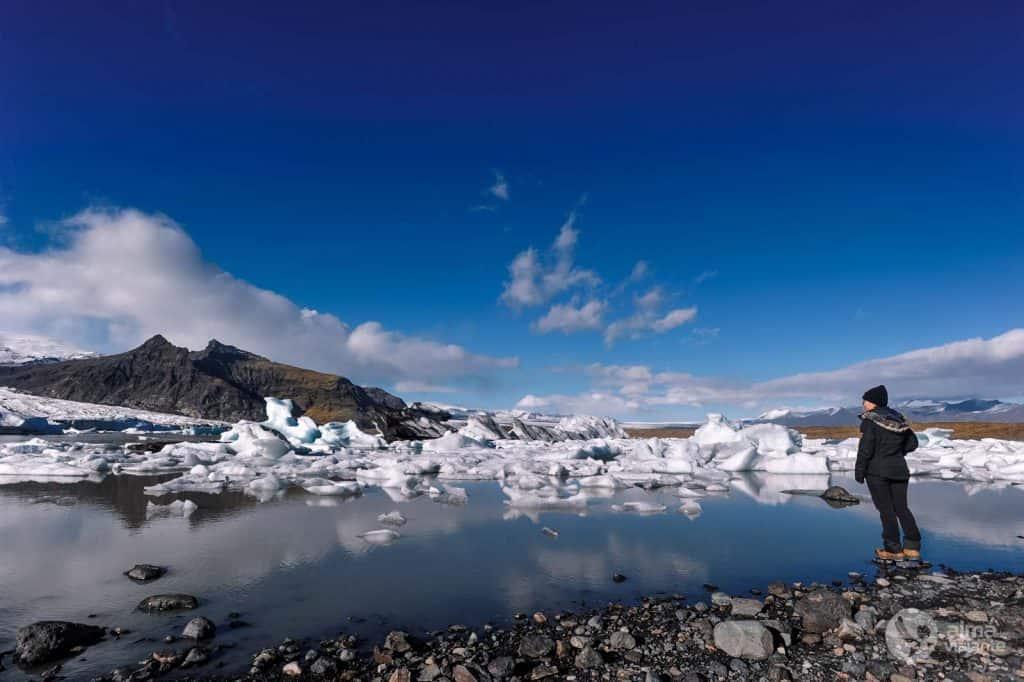Visiteu el llac Fjallsarlon