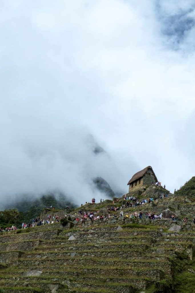 Machu Picchu fylgja: forðast ferðamenn