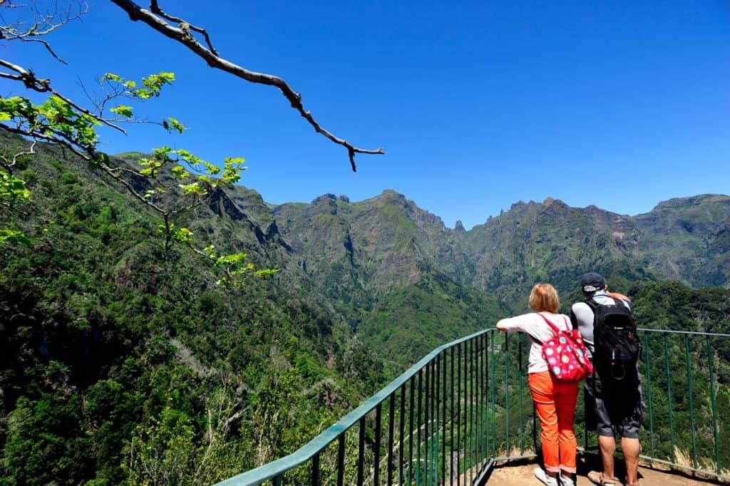 Balkonų vaizdas, paukščių stebėjimo vieta Madeiroje