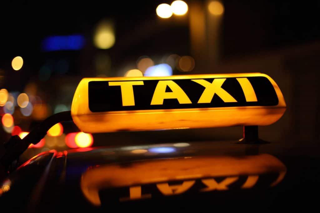 Uber táxi