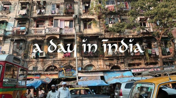 Um dia na Índia