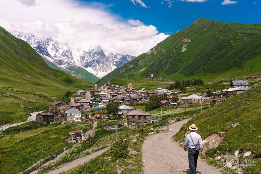 Ushguli, Svaneti, Geórgia