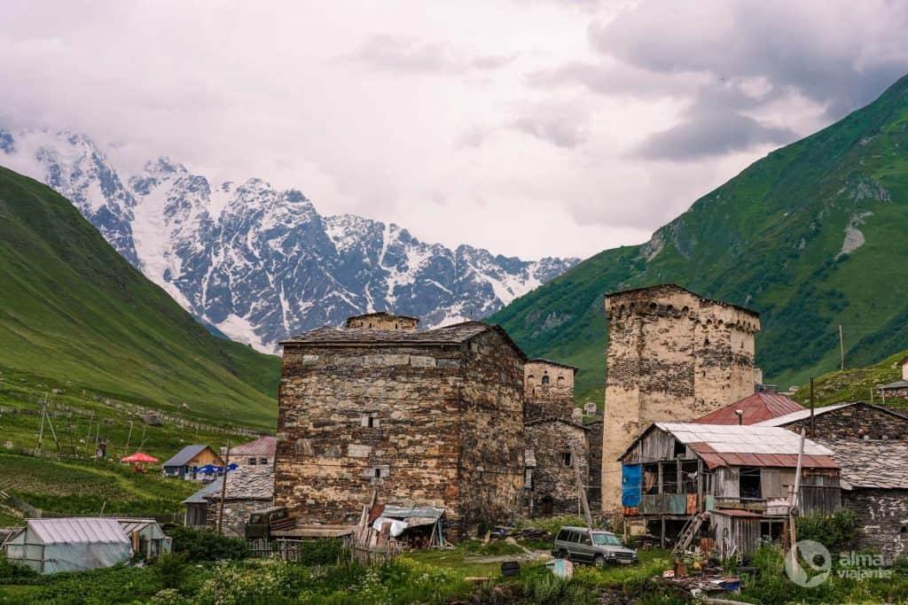 Aldeia de Ushguli, Svaneti