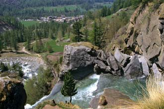 Vale de Aosta: Quedas de água de Lillaz