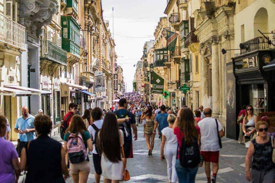 Heimsókn Malta: Valletta