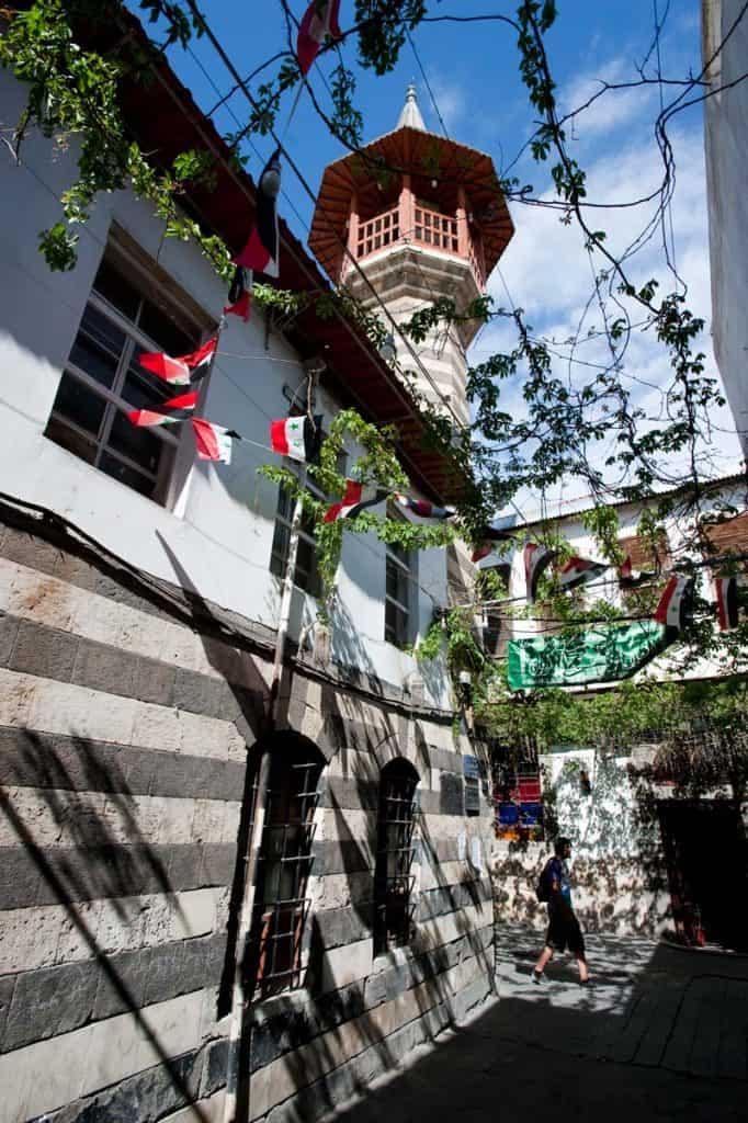 Zona velha de Damasco