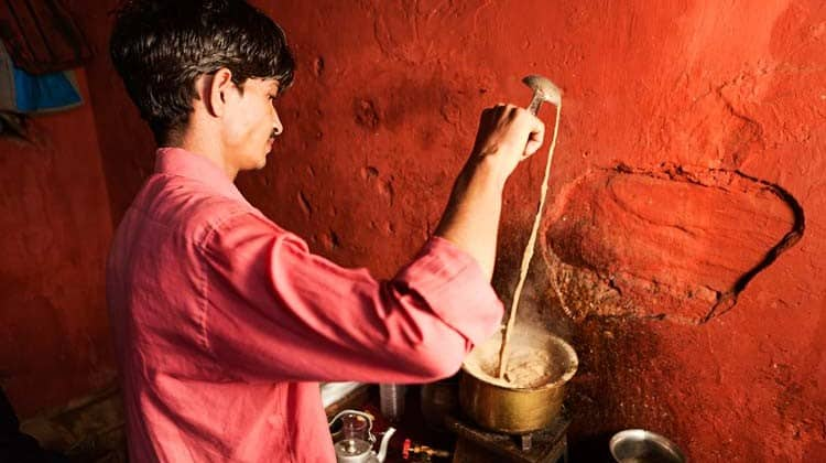 O masala chai indiano