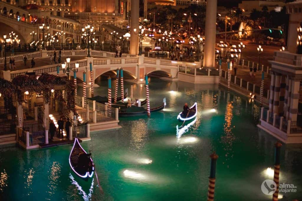 Igralnice v Las Vegasu: hotel Venezian