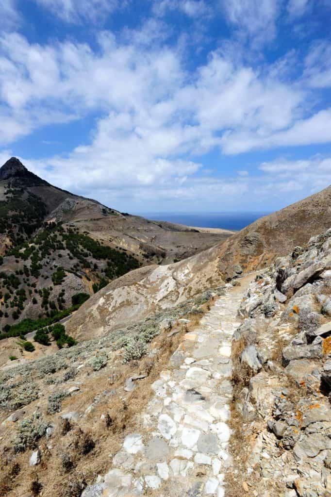 Vereda nem Pico Branco és Terra Chã