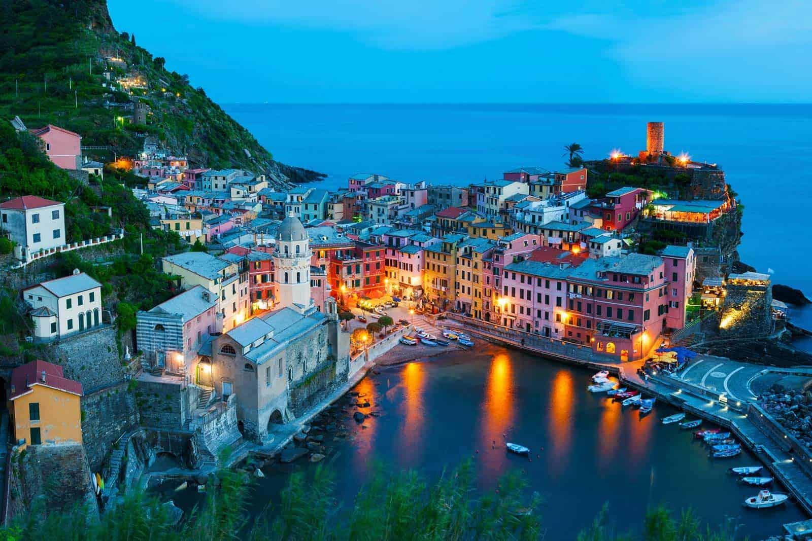 Vernazza (Ligurija), Italija