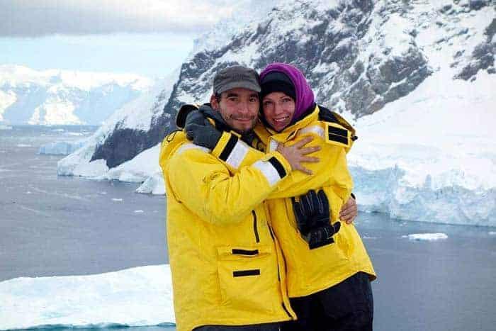 Viagem a dois na Antartica