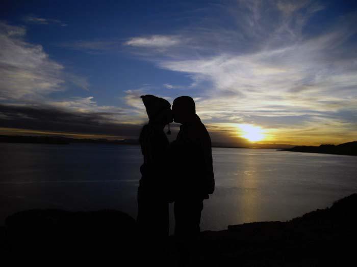 Viajar a dos en el Lago Titicaca