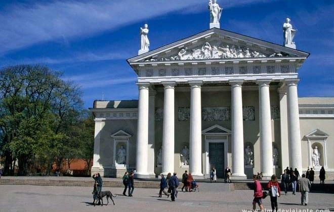 Vilnius, o norte discreto