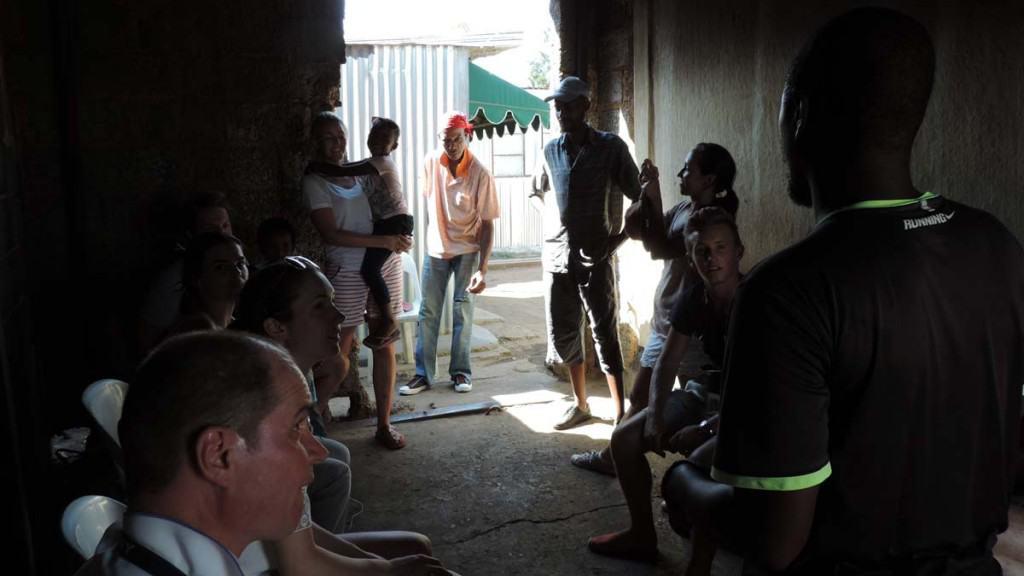 Heimsókn í Soweto, Jóhannesarborg
