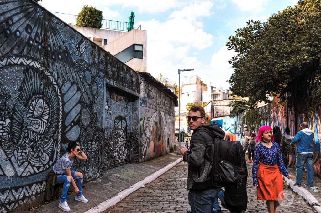 Turistas no Beco do Batman