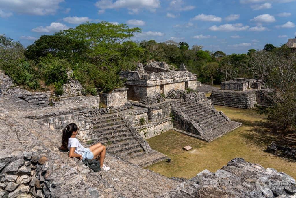 Visitar Ek'Balam, México