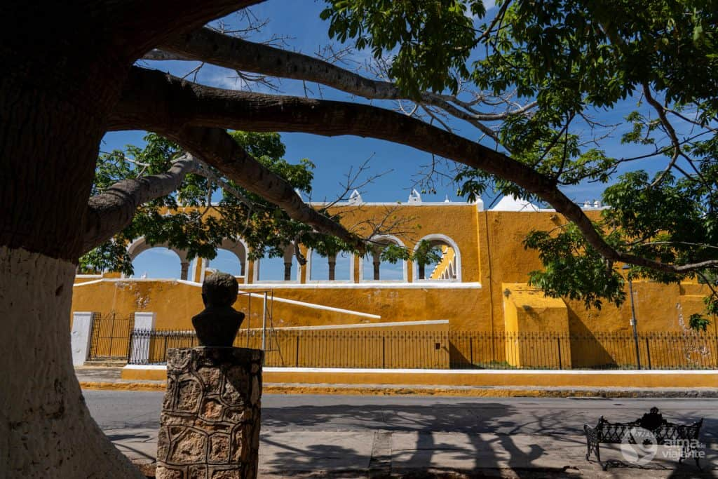 Centro histórico de Izamal, a cidade amarela