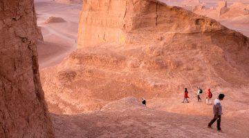 Kaluts, os incríveis castelos de areia do Dasht-e Lut