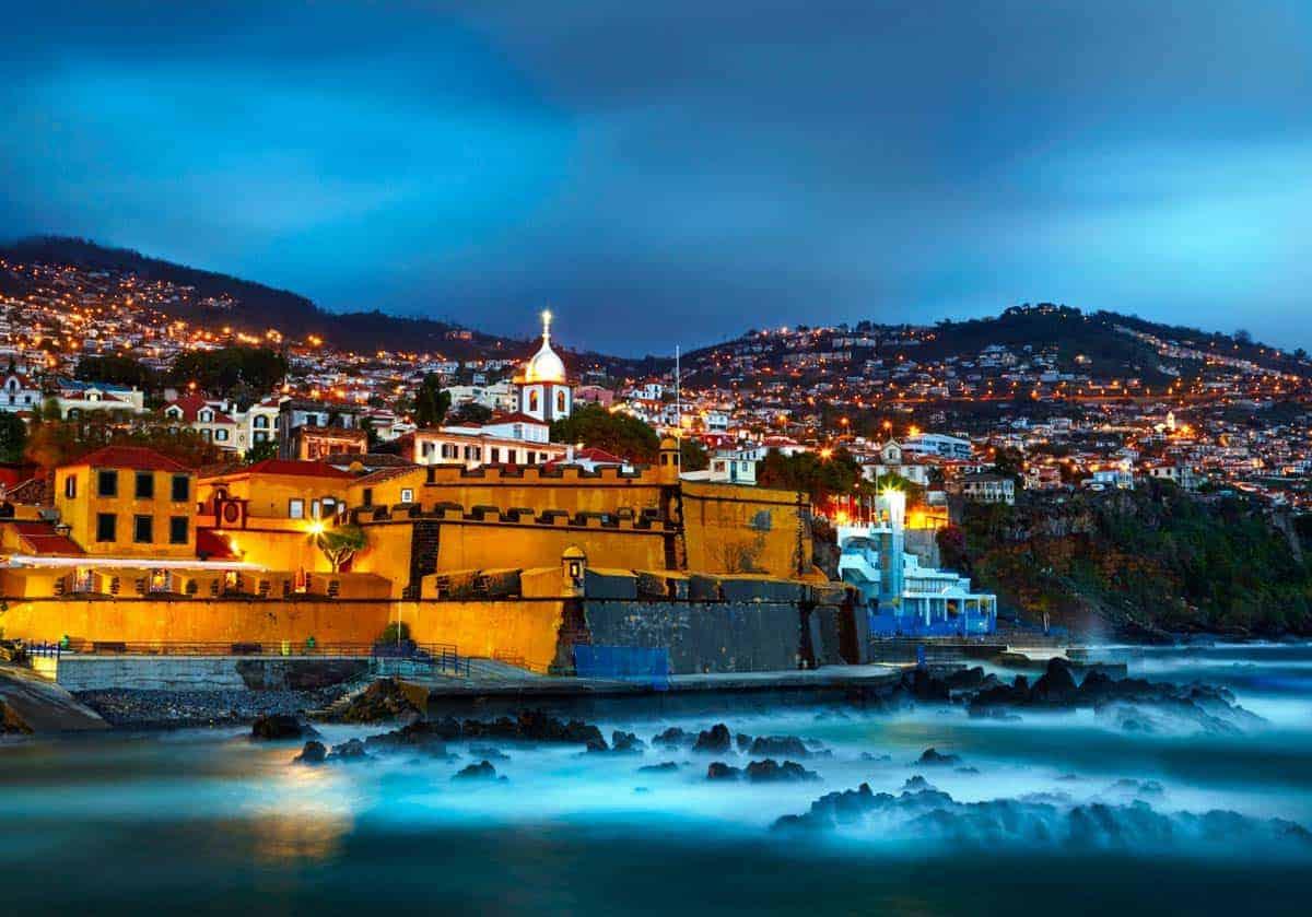 Heimsókn Funchal, Madeira