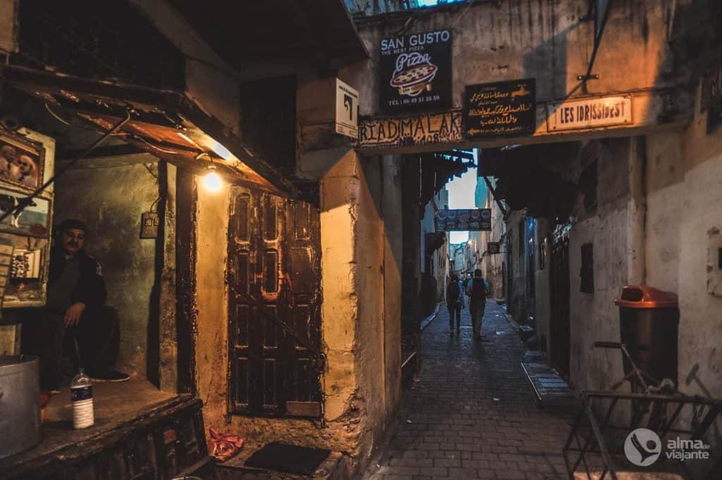 Tabella di marcia nel nord del Marocco: Fez
