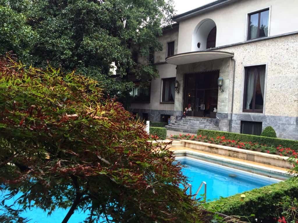 Visitar Milão: Vila Necchi Campiglio