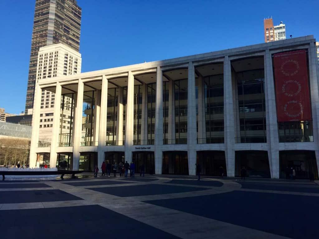 O que fazer em Nova Iorque: Lincoln Center