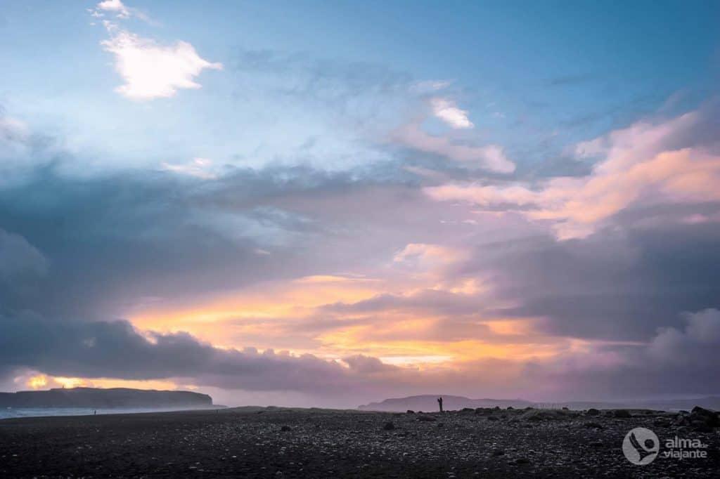 Praia Reynisfjara, Irlândia
