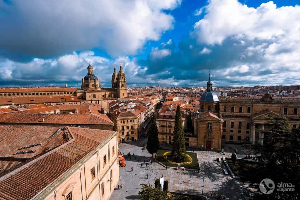 Estudar em Salamanca com um seguro para ERASMUS da IATI