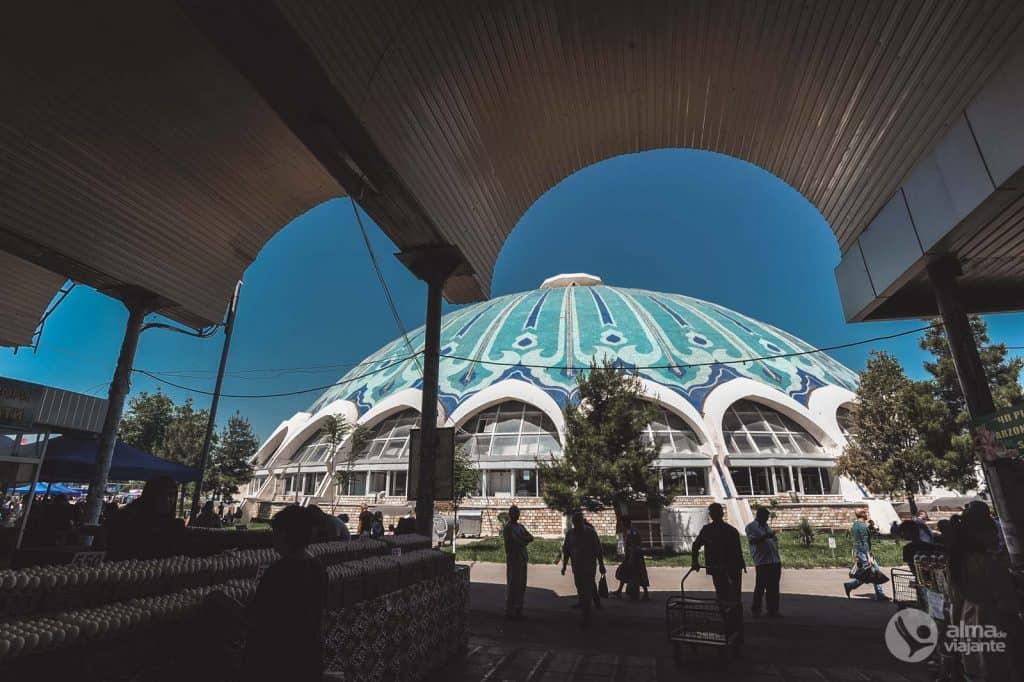 Things to do in Tashkent: visit Chorsu Market