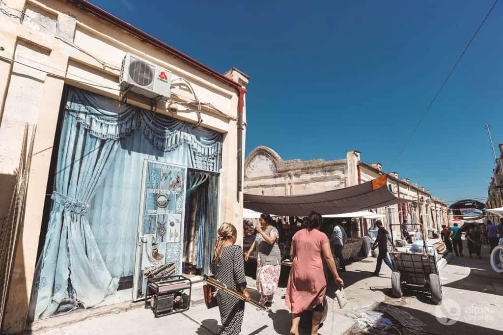 Urgut bazar, Uzbequistão