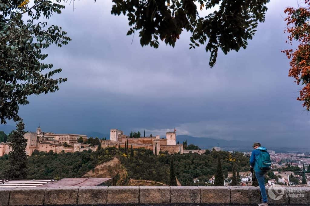 Miradouro San Nicolás, bairro Albaicín, Granada